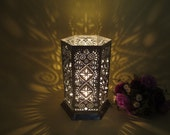 Beautiful Hand Made Zinc Lantern ,Candle Holder