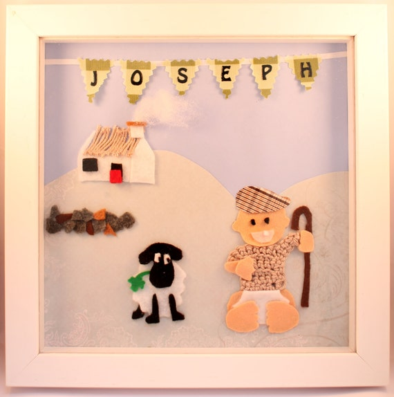 Unique Personalised Baby Gifts Ireland : Irish themed personalised d wall art for children s