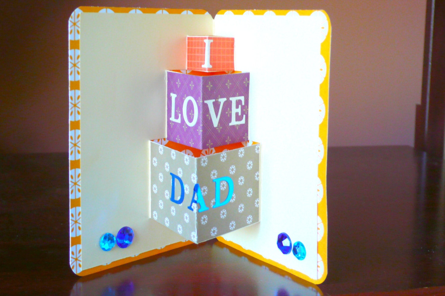 Fathers Birthday Card Happy birthday dad Birthday Cards – Birthday Card for Dad from Kids