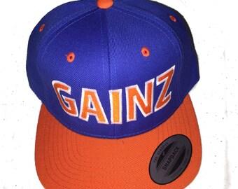GAINZ snapback hat