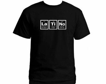 Periodic table shirt etsy for Custom periodic table t shirts