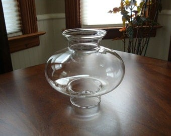 Hand Blown Glass Lamp Shade Etsy
