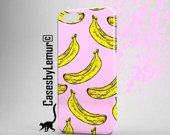 BANANA PRINT Iphone 6 Case Banana Clip Art Iphone 5 Case Banana phone Case 90s Grunge Girly Iphone 5C Case 90s Phone Case Iphone 5c Case