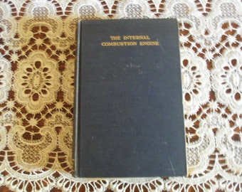 Taylor & Taylor The Internal Combustion Engine 1938 First Edition