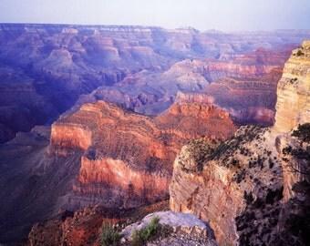 Grand Canyon Poster, Beautiful View, Amazing Vista, Arizona, Colorado River, Mother Nature