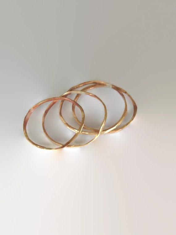 Stacking Rings - Organic (set of 4)