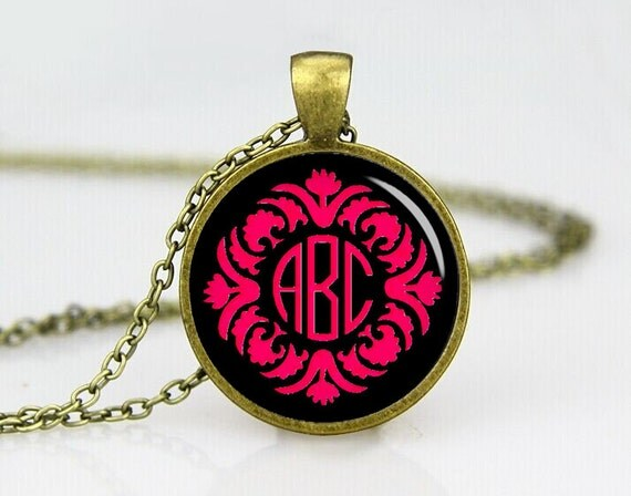 monogram necklace pendant, custom necklace pendant, bridesmaid necklace, monogram necklace locket, pendant locket, photo locket necklace