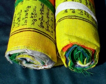 Tibetan Prayer Flag,10 Prayer Flags,Prayer Flag,Lung ta,Air Magic,Prayer Flag Bundle,Prayer Flag set,Prayer Flags,Prayer Flag Roll,Pagan