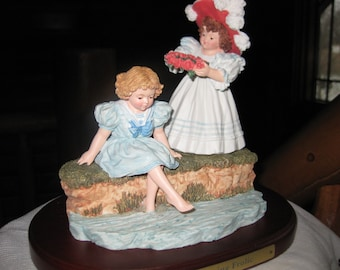 Maud Humphrey Bogart Spring Frolic Collectible Figurine - Heirloom Tradition Collection - Hamilton Gifts Limited - 1990