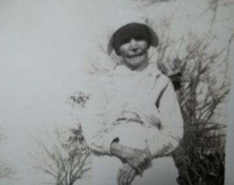 Vintage Photograph of a Older woman, Collectible vintage,Castawayacres