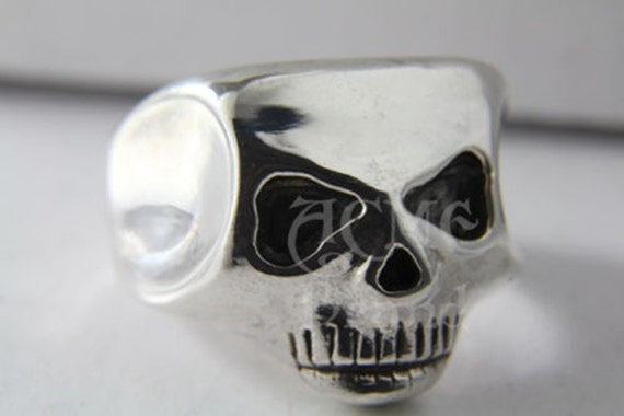 Johnny Depp Skull Ring Replica