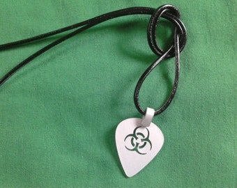 biohazard guitar pick