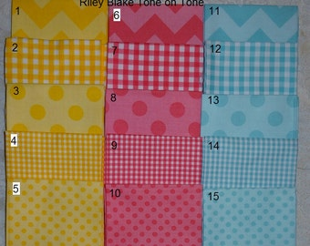 Five Photos of Fabric Selections - Do Not Purchase this Listing