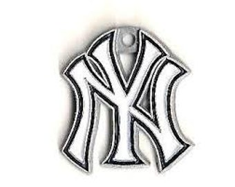 New York Yankees Baseball Charm