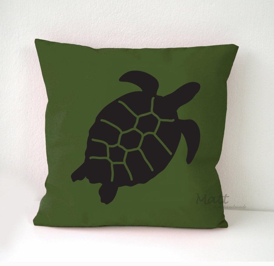 Ocean Animal Pillows : Sea animals themes Pillow Cover Sea turtle pillow case Sea