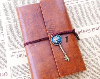 Yellow Minion notebook , diary , Travel Journal Notebook , Journal book , leatherette notebook