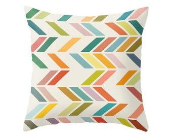 Mid century geometric pillow mid century cushion geometric throw pillow geometric pillow multi colored geometric throw pillow nordic design
