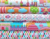 Prince Charming fabric by Michael Miller, Fat quarter bundle, fabric bundle, online quilting fabric Australia
