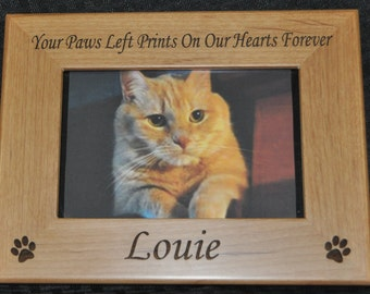 Pet Loss Gift ~ Pet Frame ~ Pet Loss Frame ~ Cat Frame ~ Loss of Cat ~ Cat Loss Gift ~ Friend Loss Of Pet ~ Dog Frame ~ Sympathy Of Pet ~