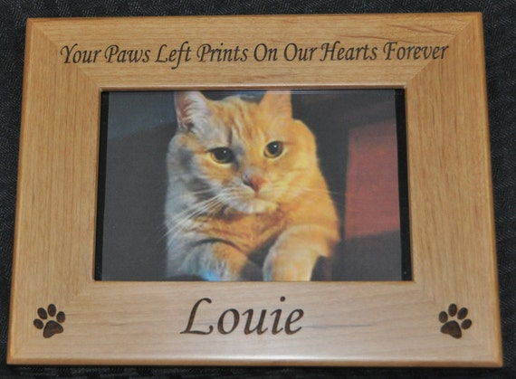 pet loss gift pet frame pet loss frame cat frame loss of