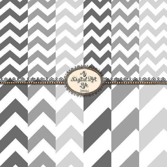 papier peint num rique chevron en gris et blanc carte. Black Bedroom Furniture Sets. Home Design Ideas