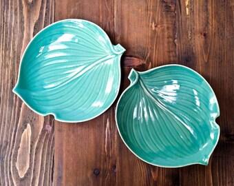 Vintage Leaf Plates
