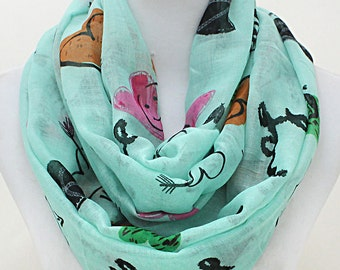 Happiness Infinity Spring Scarf