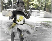 Bumble Bee tutu outfit