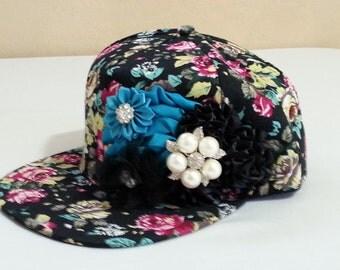 Flower Baseball Cap