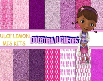 More images digital papers Kit Dr. toys !!!