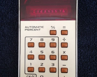 1975 Rockwell International 8R vintage calculator