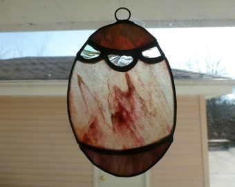 Stained Glass Easter Egg Ornamanet Suncatcher