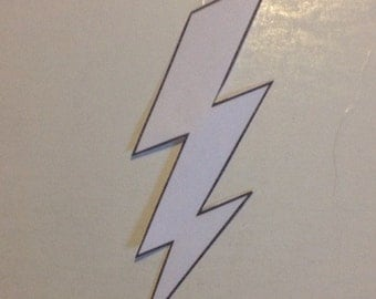 Lightning Bolt iron on