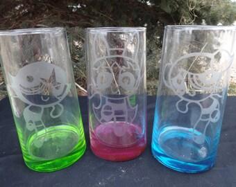 Powerpuff girls colored Drinkware
