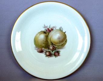 Vintage Schumann Painted Fruit Plate