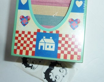 REDUCED Lisa Frank cube  and betty boop stickers clearance