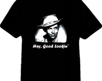 Hank Williams Sr Country Music Singer T Shirt