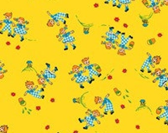 Blue Hill Fabric Holly's Dolls  8008 - 009