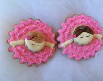 Ballerina Sugar Cookies