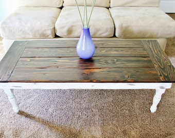 white coffee table | etsy