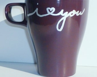 Heart You 8oz Mug