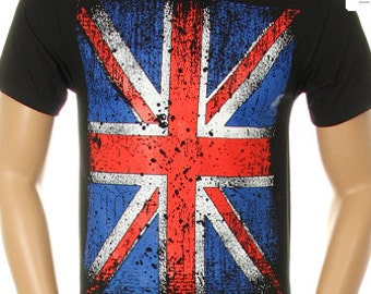 Vintage Union Jack on Men Shirt
