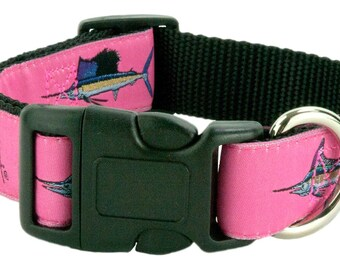 Guy Harvey Dog Collars- Grand Slam Four Different colors to chose from