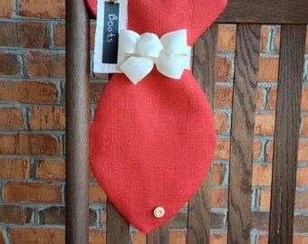 Personalized Fish Shaped Cat Stocking, Cat Christmas Stocking, Holiday Stocking, Christmas Stocking, Cat Accessories