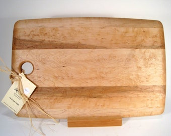 Handcrafted Bird's Eye Maple Cutting Board
