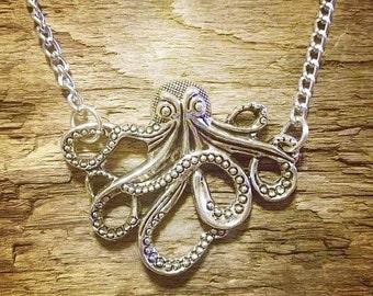Summoning the Kraken Necklace