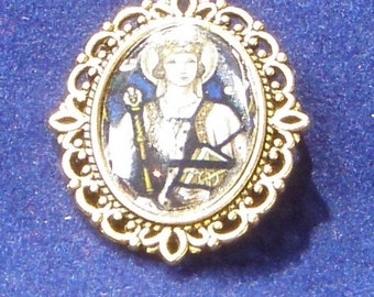Saint Margaret of Scotland Religious Medal