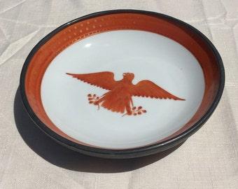 Vintage American Eagle YT Japanese Porcelain Wares bowl