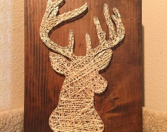 MADE TO ORDER - Deer String Art