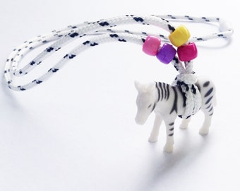 Zebra 'Wild Necklace'- for Children